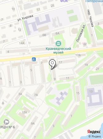 Киреевск-2 на карте
