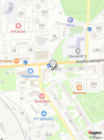 Корн на карте