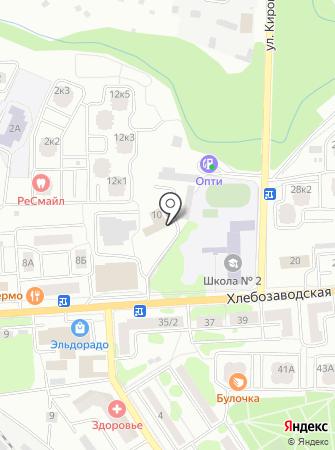 Health Club на карте