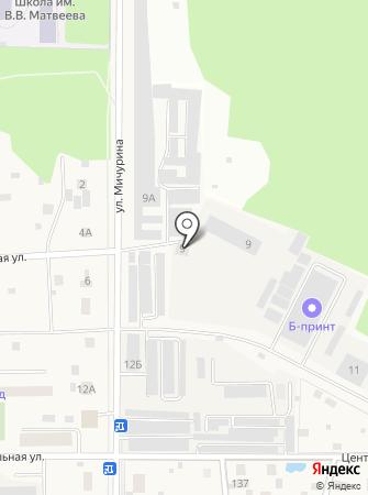 Витязь-96 на карте