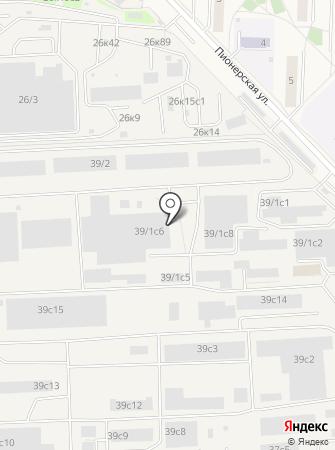 Юнипол на карте