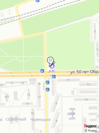 Юкойл на карте