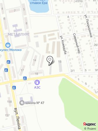 Форсаж, автокомплекс на карте