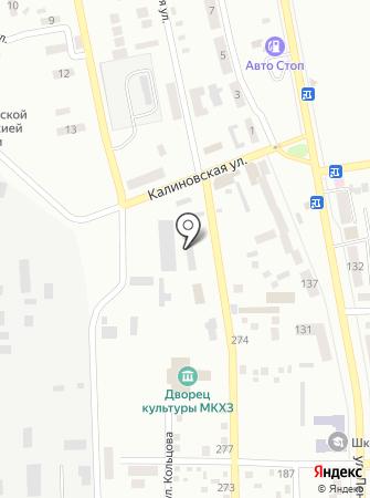 Техноспорт на карте