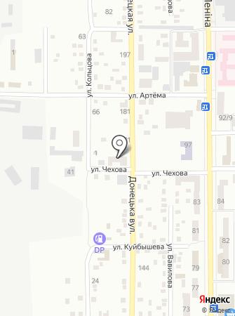 Автозапчасти, магазин на карте