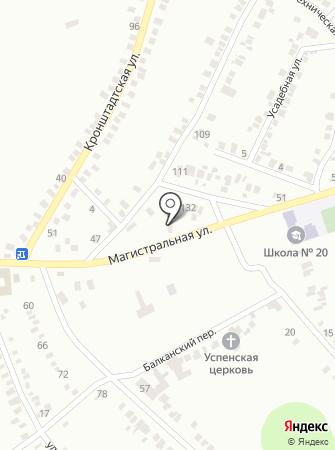 Шинник, КП на карте