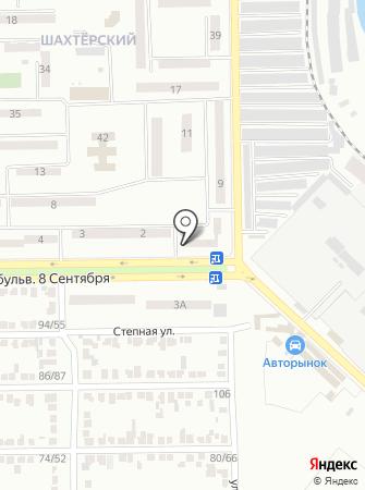 Почта Донбасса, ГП на карте