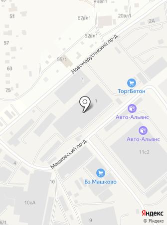 Газстройсервис на карте