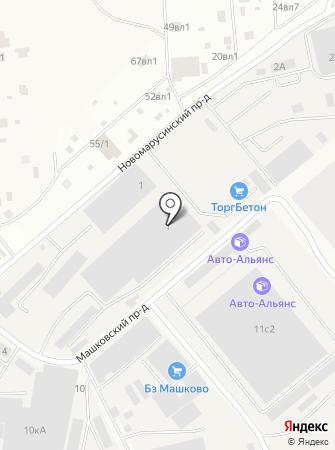 Opt-cargo на карте