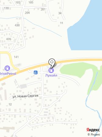 АЗС АНП на карте