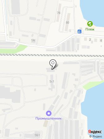 Промышленник-М на карте