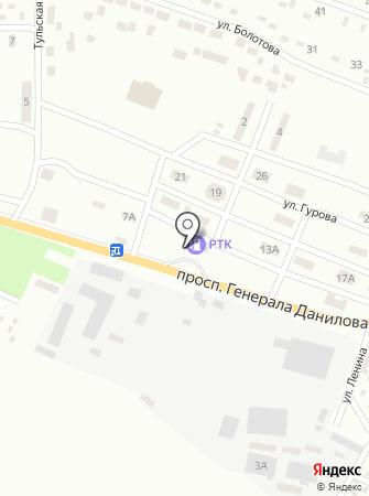 АЗС ОККО-Нафтопродукт на карте