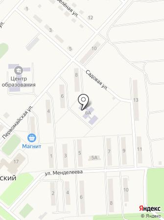 Рябинушка, Шварцевский детский сад на карте