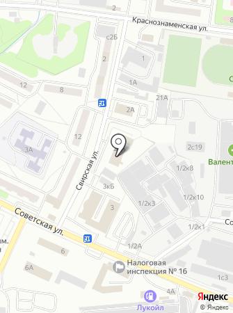37-й отряд ФПС по Московской области на карте