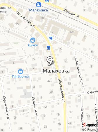 Экран на карте