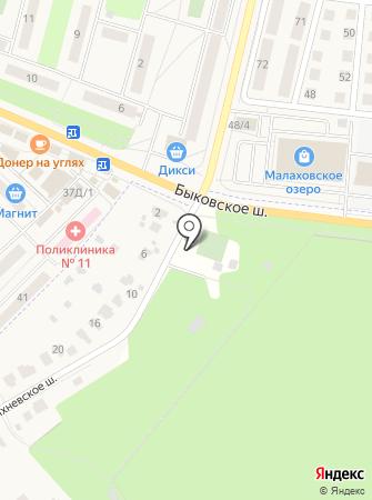 Пейнтбольный клуб на карте