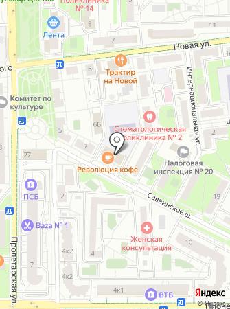 Onix на карте