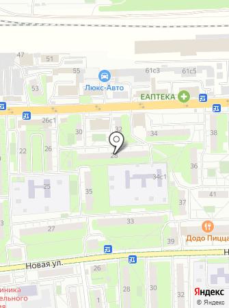 Подъем-1 на карте