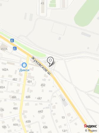 АЗС на Жуковском шоссе на карте