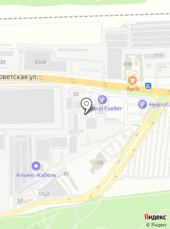 Самомой на карте