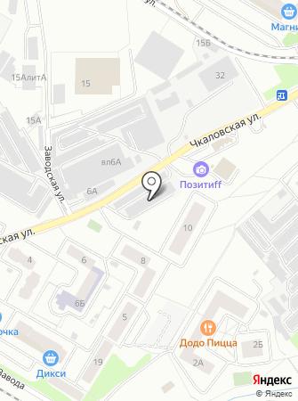 КолесМастер на карте