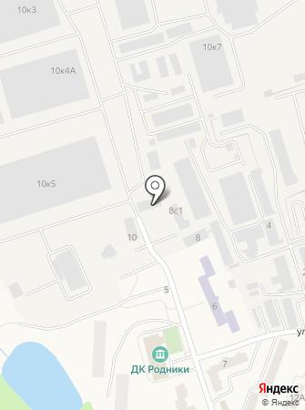 Олтекс на карте
