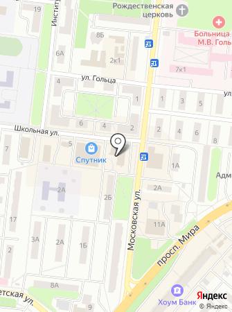 Кулебяка на карте