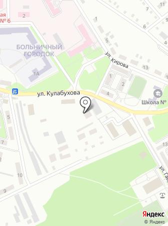 Расточка на карте