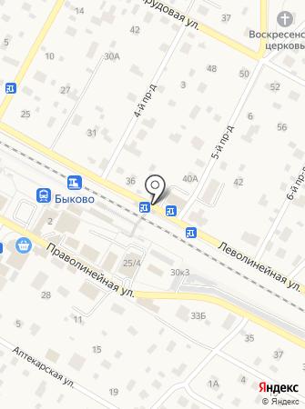Магазин кофе и чая на карте