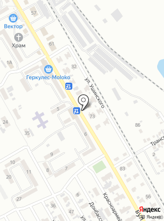 Автостоянка на проспекте Кирова на карте