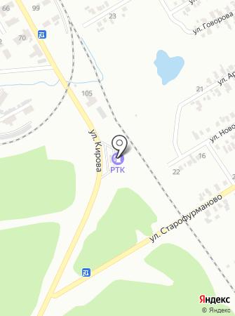 АЗС Параллель на карте