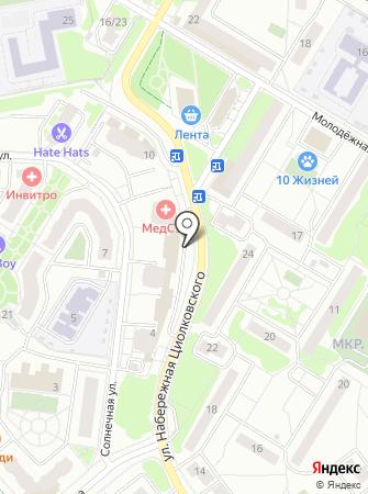 РП ЖУКОВСКИЙ на карте