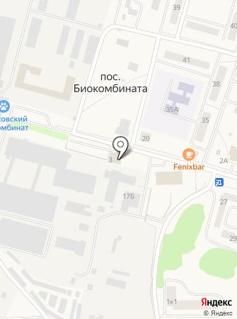 БИОТОП на карте