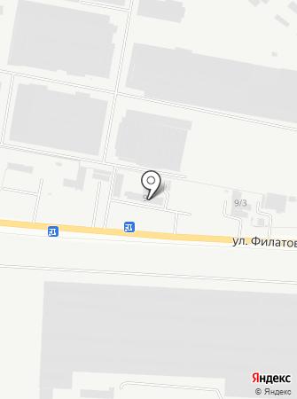 Донспецстрой, ЧП, торговая компания на карте
