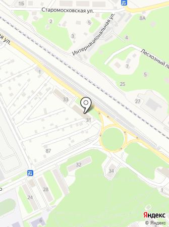 Учебный центр ПО, АНОО на карте