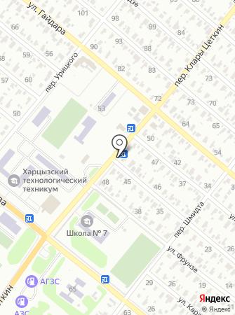 Шиномонтажная мастерская на ул. Некрасова на карте