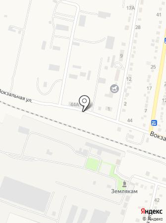 Абинская швейная фабрика на карте