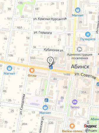 Сахалинец на карте