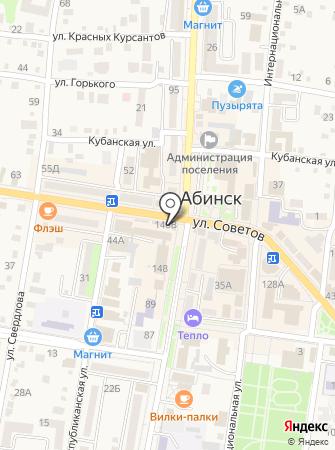 Микрозайм на карте
