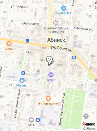 Красный мак на карте