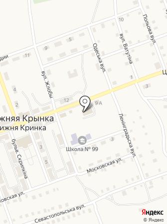 Лада, продуктовый магазин на карте