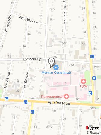 Банкомат, Крайинвестбанк на карте