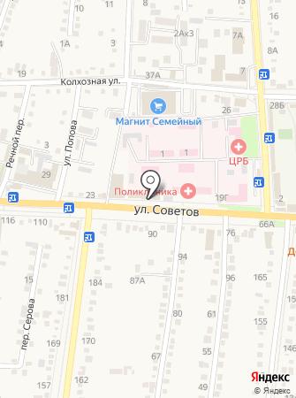 Red на карте