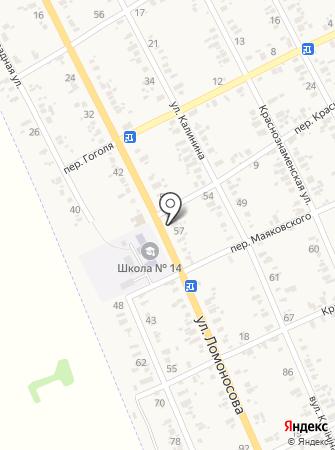 Фристайл, продовольственный магазин на карте