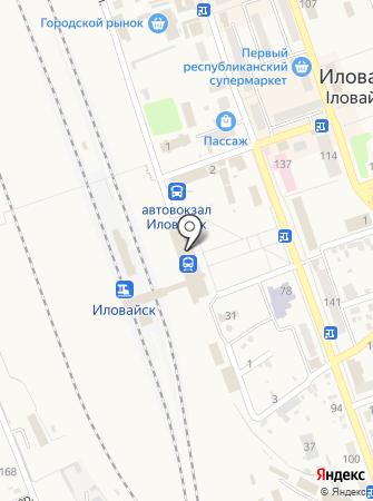 Таможенный пост Иловайск на карте