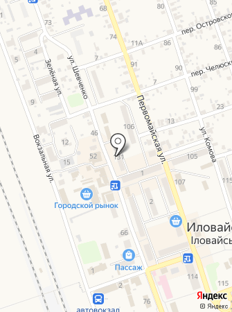 Таня на карте