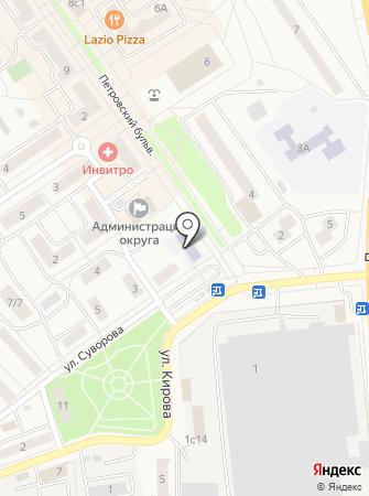 Лосино-Петровская детская музыкальная школа на карте
