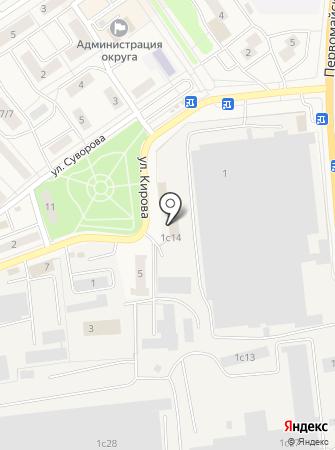 Специализированное землеустроительное бюро на карте
