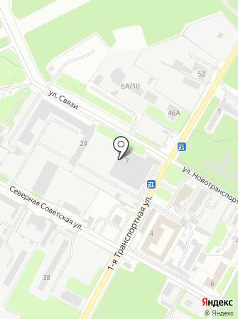 АТП-11 на карте