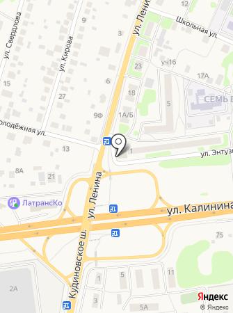 Почтовое отделение №142440 на карте
